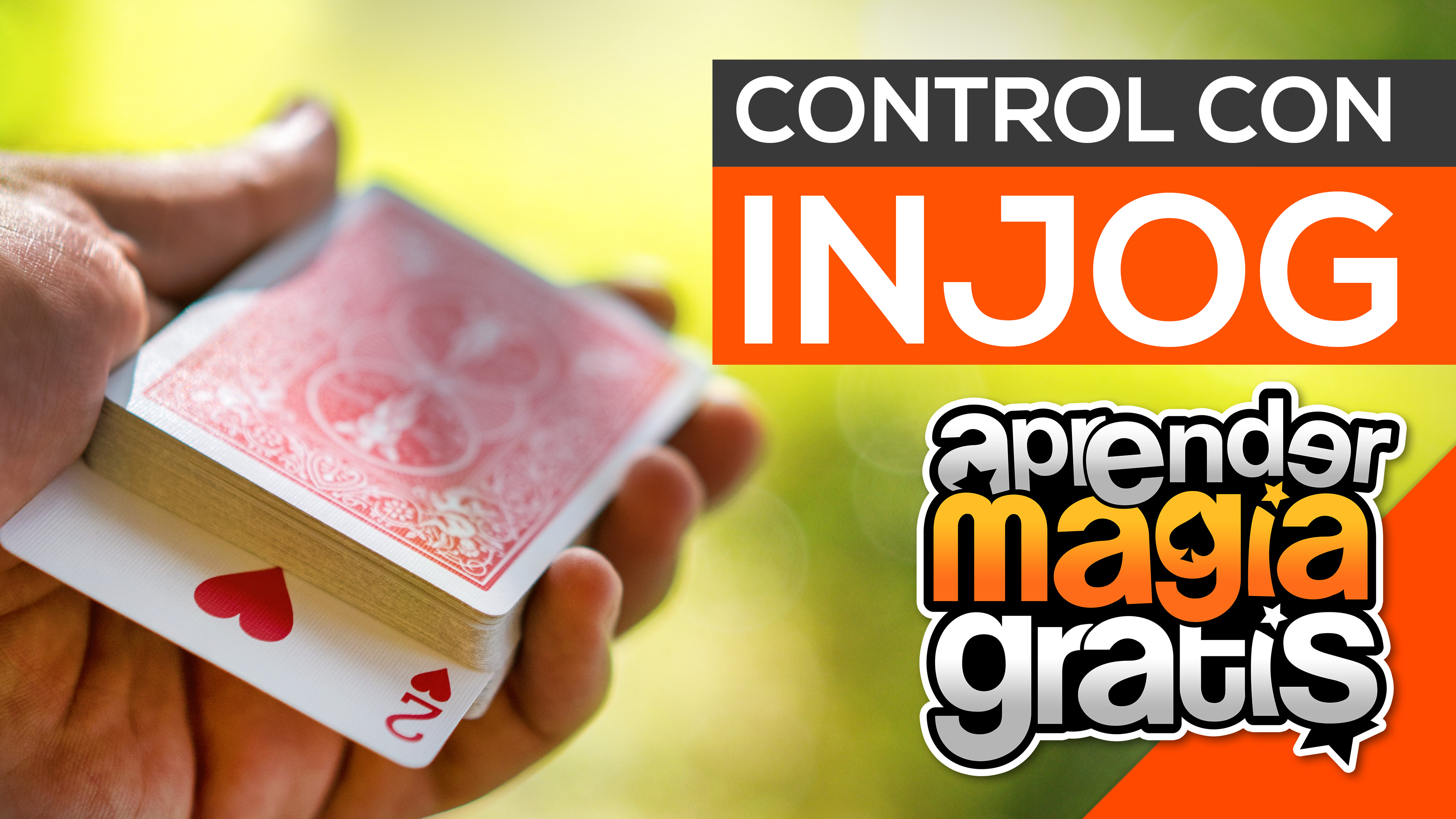 Control de carta con Injog | Truco de magia revelado con cartas gratis