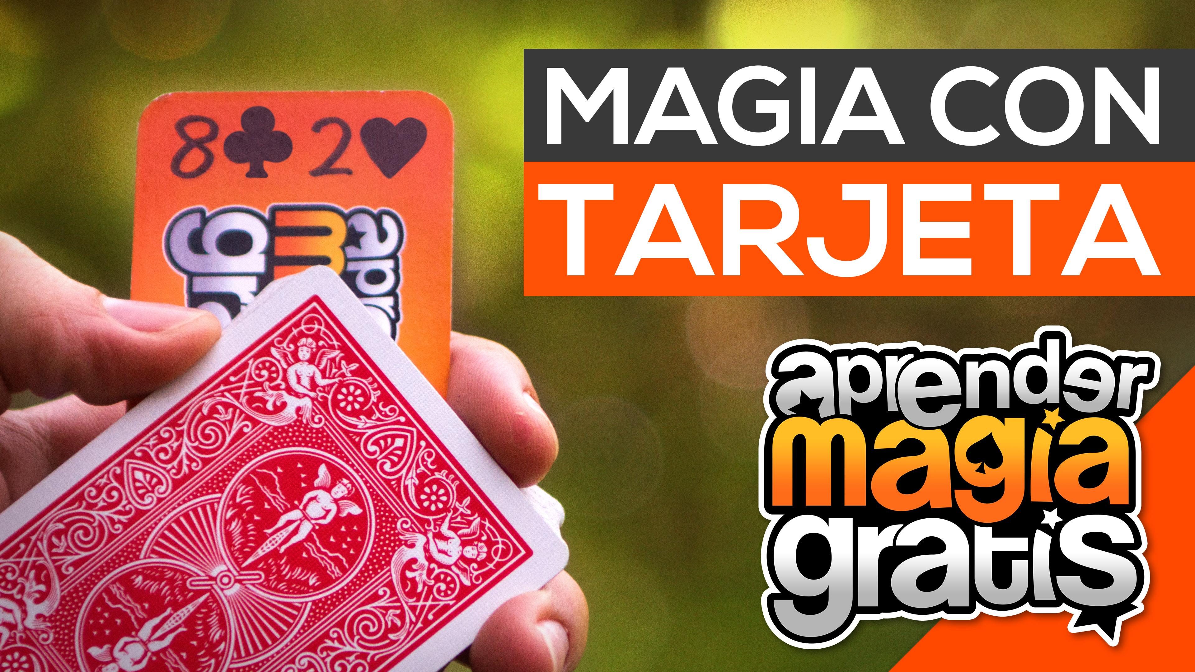magia con tarjeta