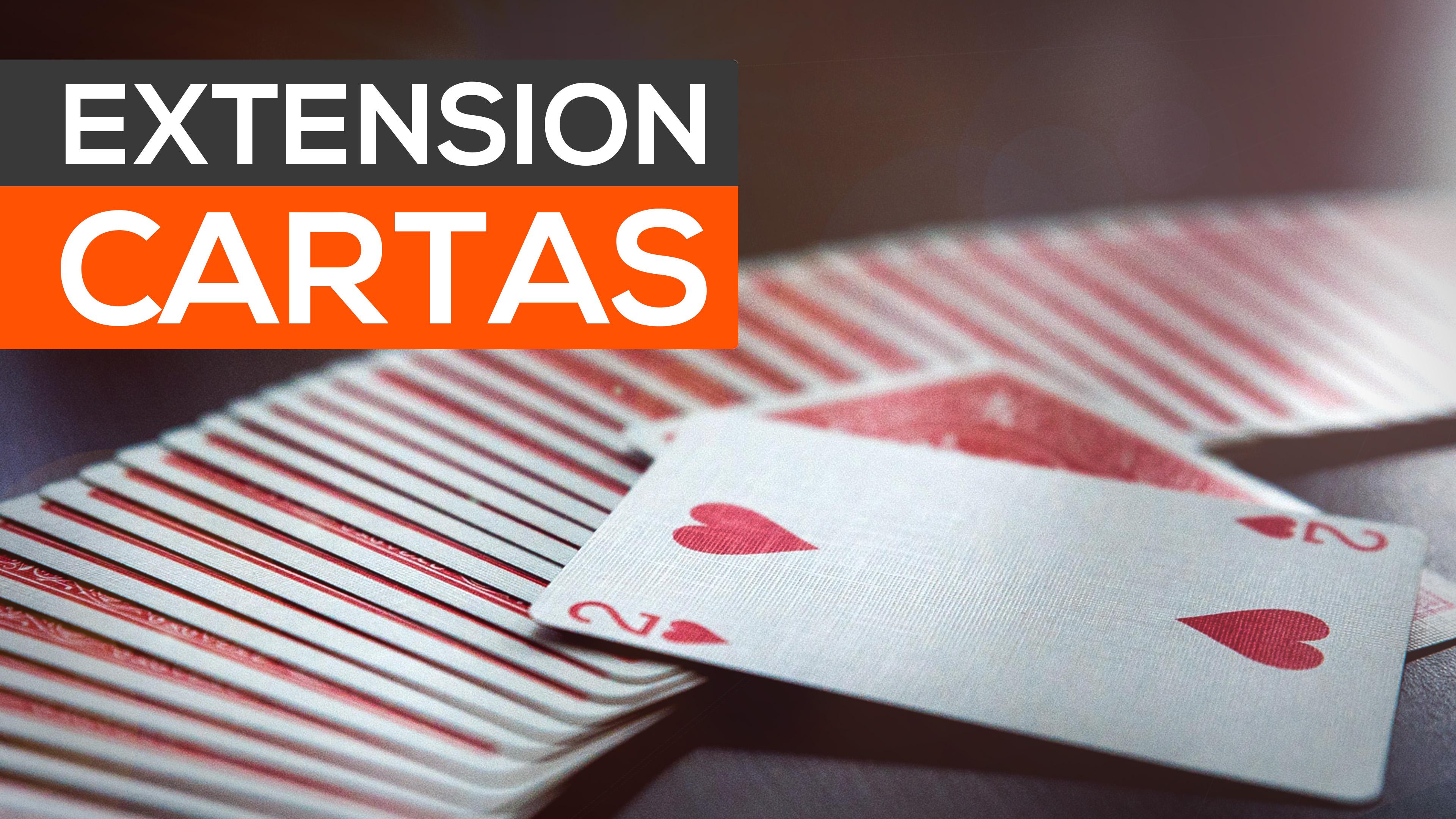 2016 - 03 - extension de cartas