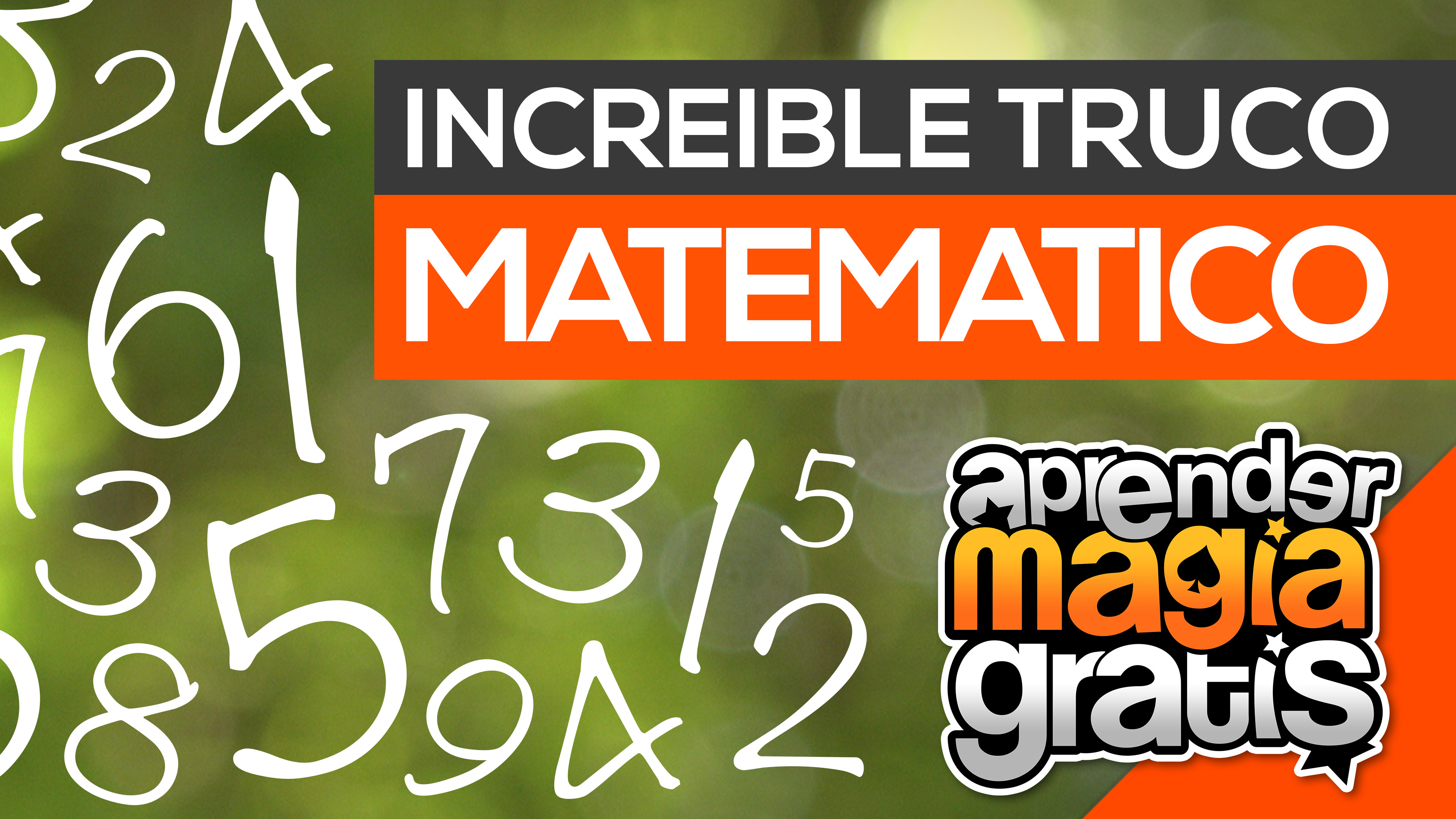 2016 - 05 - truco matematico