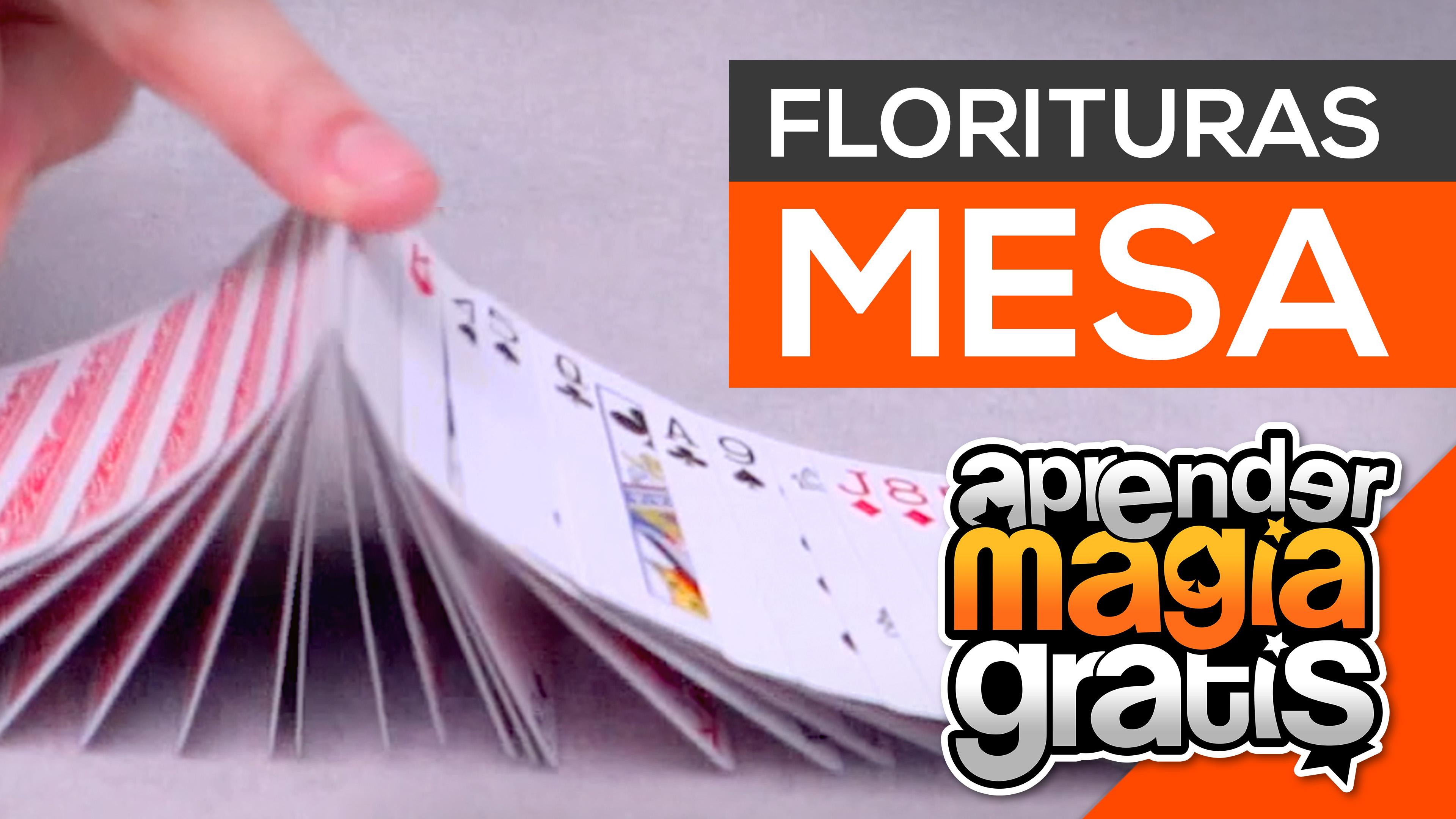 Extension con cartas avanzado y florituras en mesa | Aprender Magia Gratis