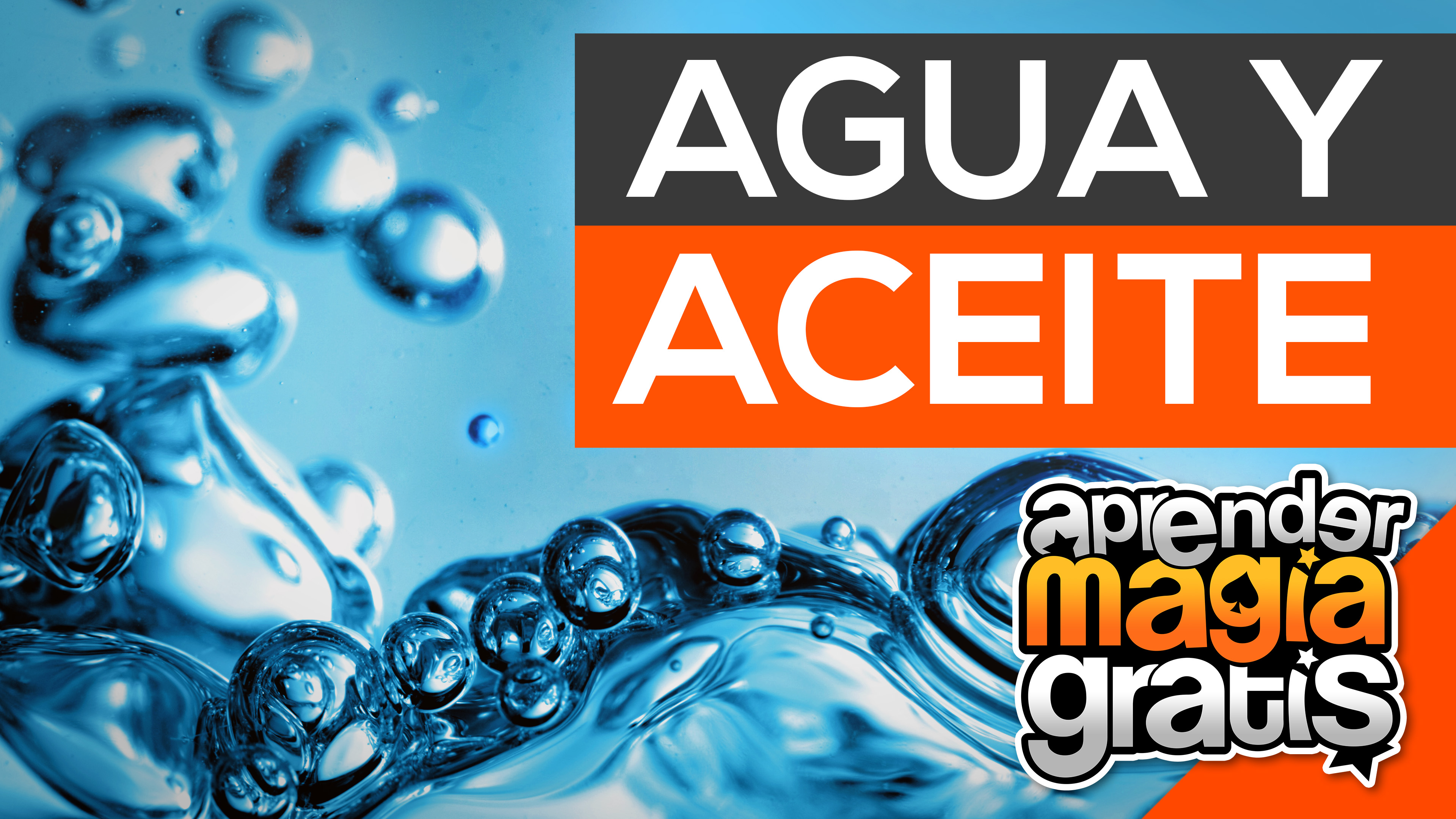 Agua y Aceite Truco de magia Revelado Aprender Magia Gratis