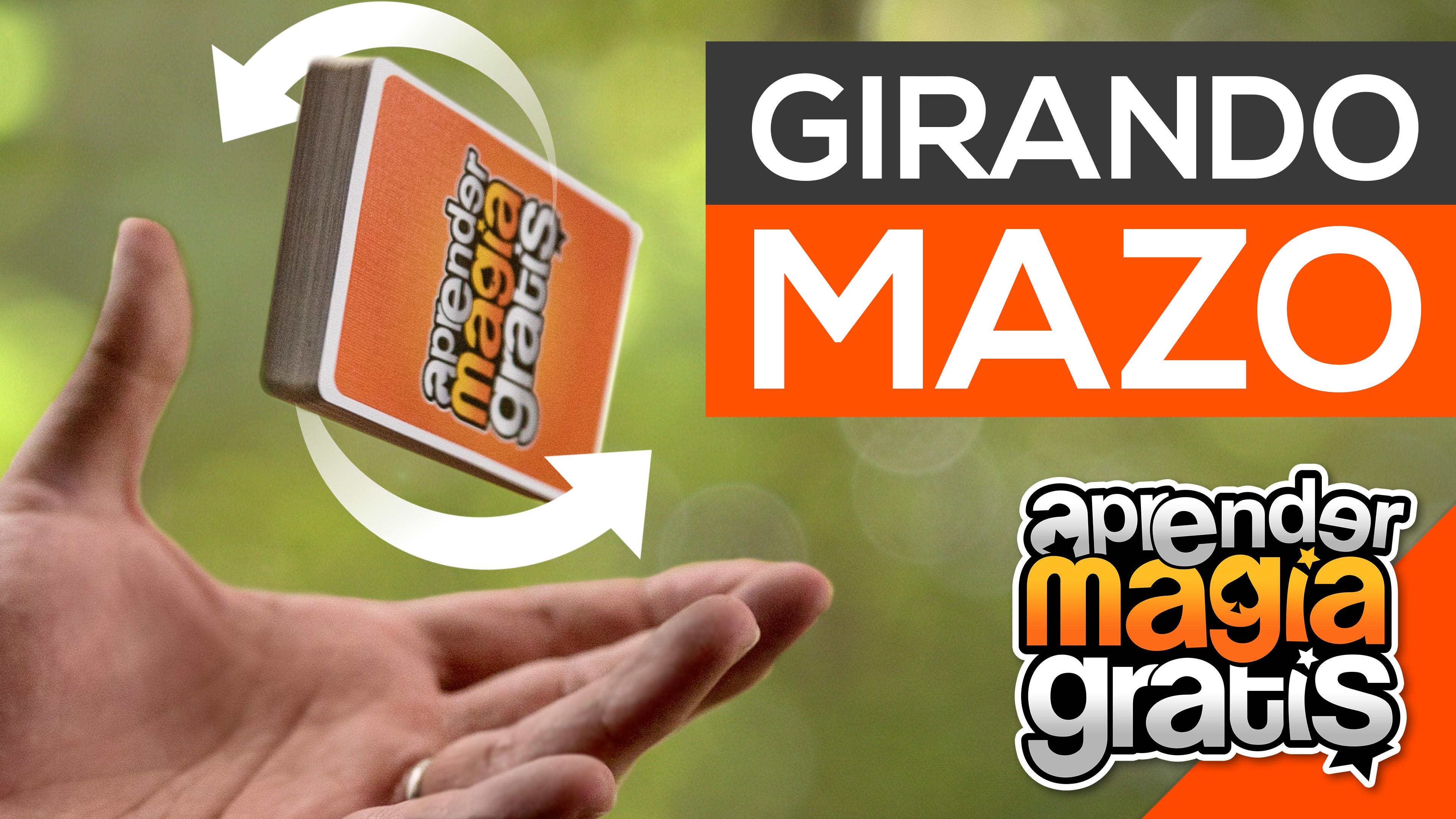 Como girar el mazo de cartas en el aire | TG deck flip | Aprender Magia Gratis