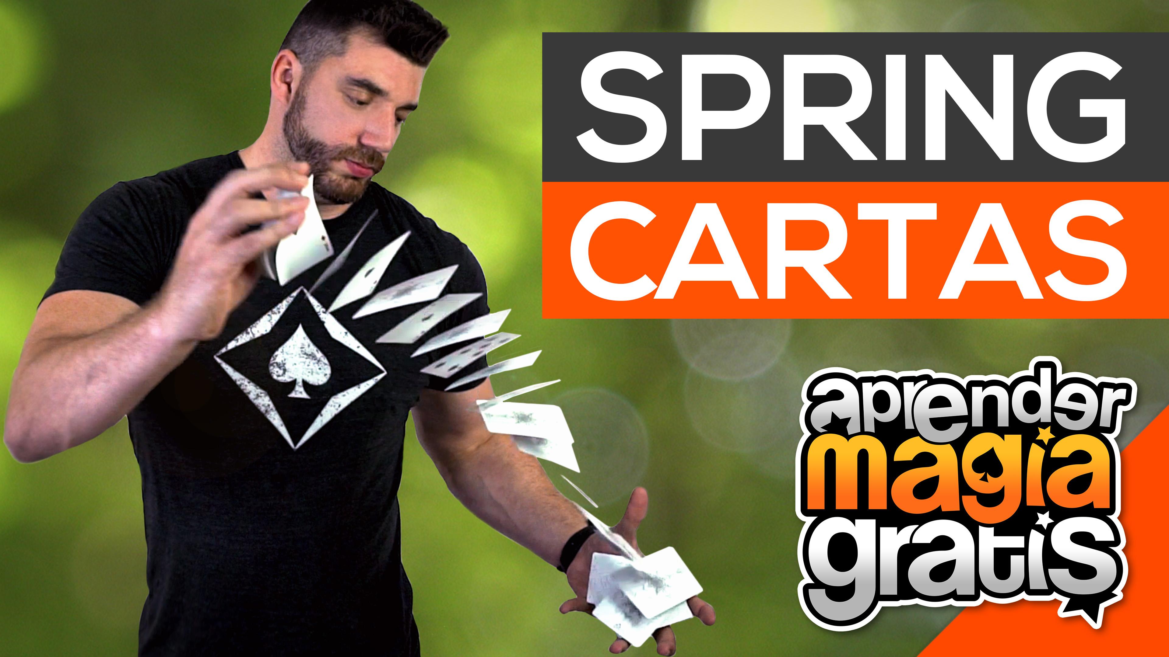 Spring con cartas Florituras Aprender Magia Gratis