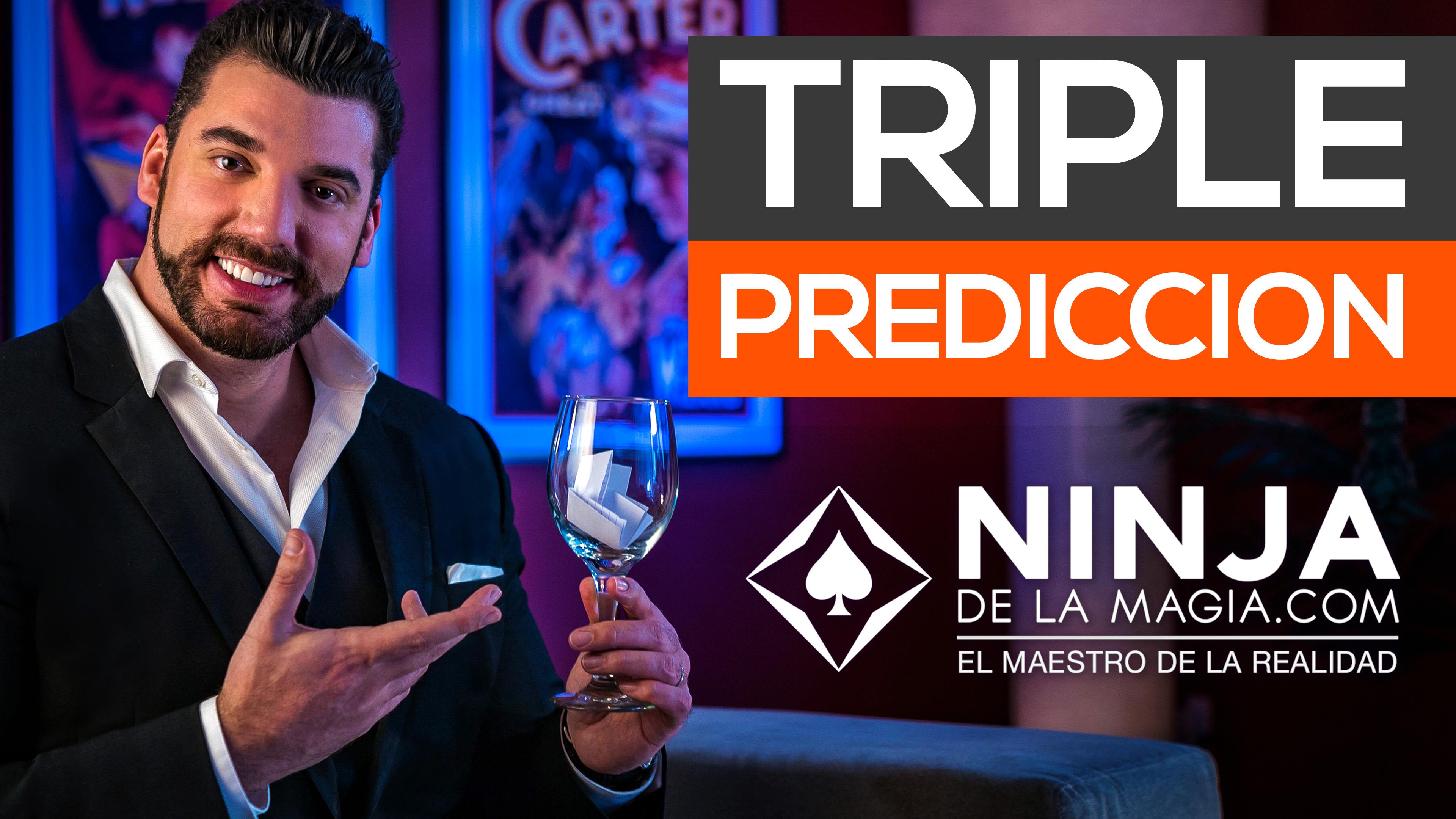 Triple Predicción Truco de Mentalismo revelado Ninja de la Magia Gratis El maestro de la realidad