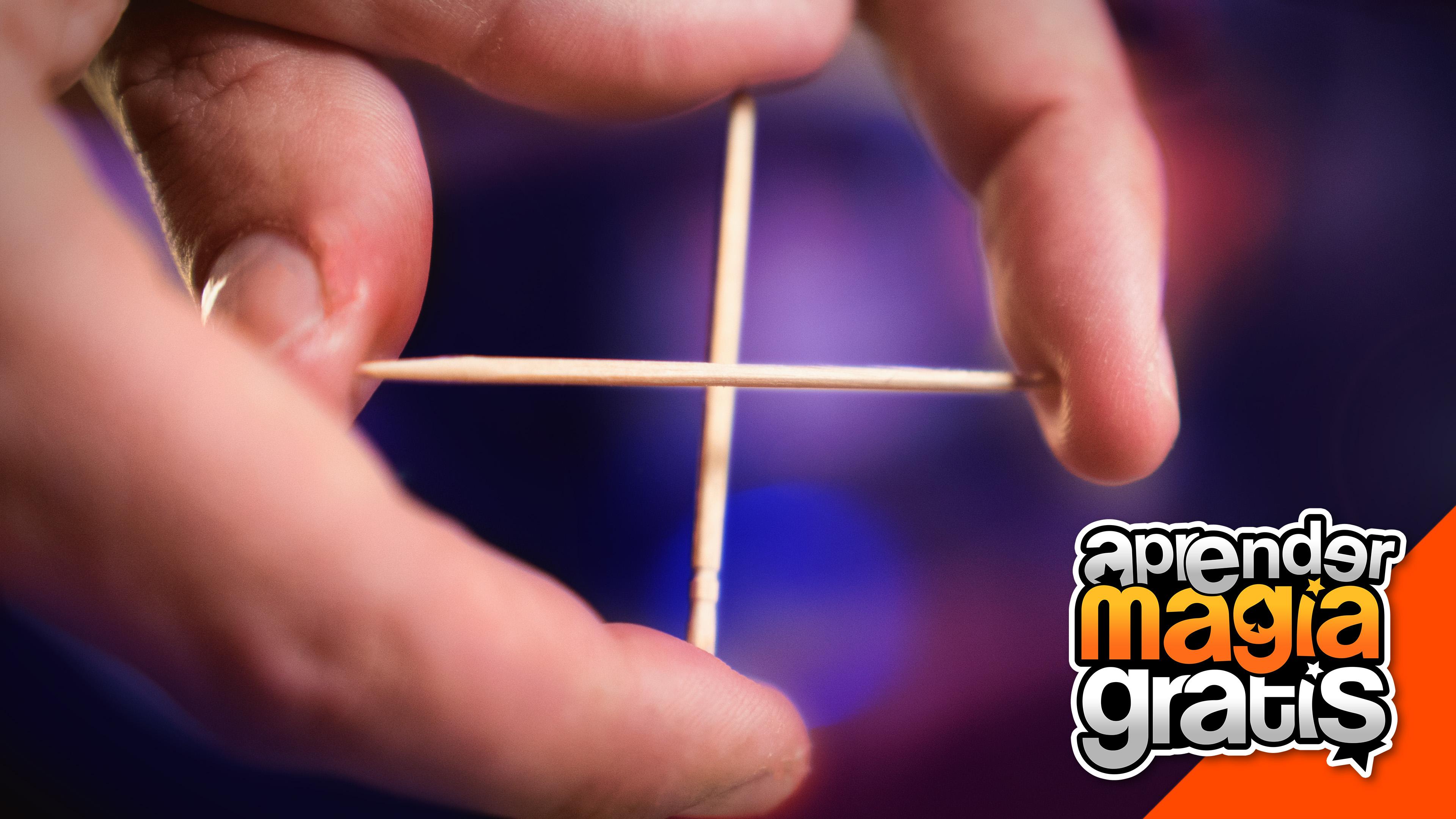 El mejor truco de magia del mundo con fosforos o mondadientes